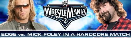 30 días, 30 luchas, 30 años de WrestleMania: Edge Vs. Mick Foley 8
