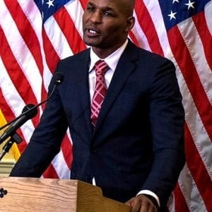 Bernard Hopkins hablando al United States Capitol en febrero 2014 / Creative Commons License