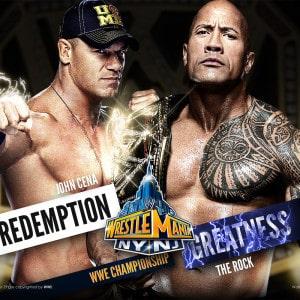 30 días, 30 luchas, 30 años de WrestleMania: John Cena Vs. The Rock 1