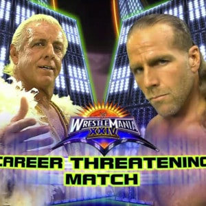 30 días, 30 luchas, 30 años de WrestleMania: Shawn Michaels Vs. Ric Flair 4