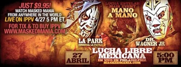 Este 27 de abril para todo el mundo: Maskedmania 3