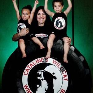 Madre aspira el Oro Olímpico, la vida de Jackie Cataline. 12