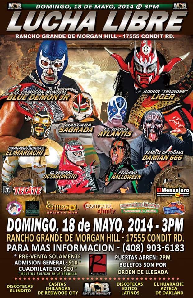 Pro Wrestling Revolution anuncia el combate entre Blue Demon Jr. y Jushin Thunder Liger 1