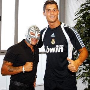 Rey Mysterio y Cristiano Ronaldo