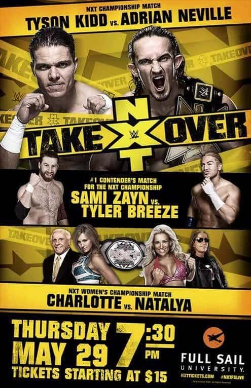 NXT Takeover (Cobertura y resultados 29-05-14) - Neville retiene el NXT Championship - Charlotte es la nueva campeona femenina - Noche de grandes luchas 1