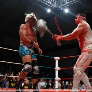 AAA: Resultados AAA en Querétaro - 27/06/2014 - Jeff Jarret y Electroshock, duelo de cabelleras en puerta. 17