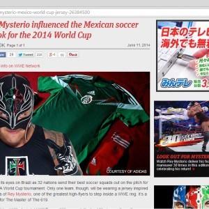 WWE.COM: La Influencia de Rey Mysterio en Brasil 2014 5