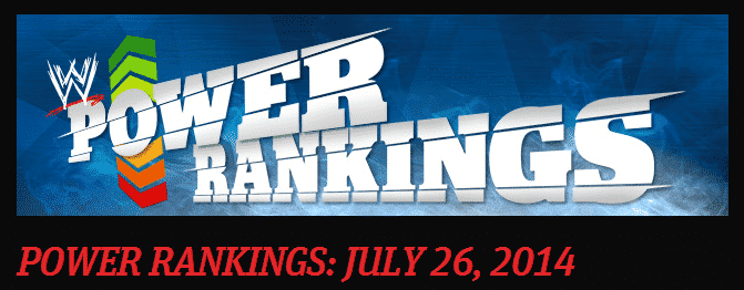 WWE.com: Power Rankings (26 de Julio del 2014) 4
