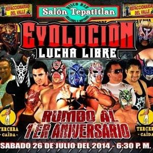 """Evolución Lucha Libre presenta """"Breaking Borders"""" 13"""