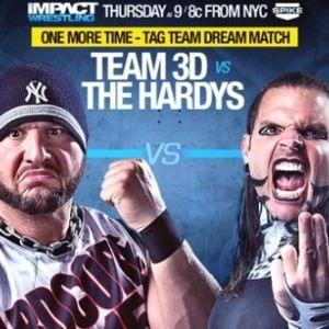 Impact Wrestling (Cobertura y resultados: 14-08-14)- Team 3-D derrota a The Hardy Boyz 8