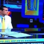 Alberto del Rio (Dos Caras Jr.) es entrevistado por Estabn Arce en Foro TV - © Televisa