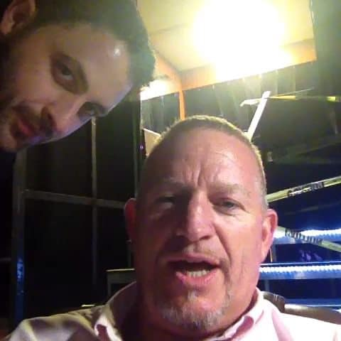 "Cody Barbierri y su amigo ""Road Dogg"" Jesse James / Vine.com"
