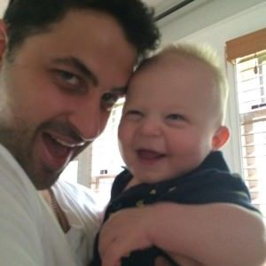 Cody Barbierri y su sobrino Milo / Twitter.com/CodyBarbierri