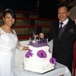 Carlos Acosta y Dark Angelita unen sus vidas en una boda singular en la Arena López Mateos 4