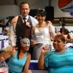 Carlos Acosta y Dark Angelita unen sus vidas en una boda singular en la Arena López Mateos 5