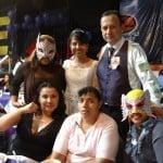 Carlos Acosta y Dark Angelita unen sus vidas en una boda singular en la Arena López Mateos 6