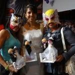 Carlos Acosta y Dark Angelita unen sus vidas en una boda singular en la Arena López Mateos 8