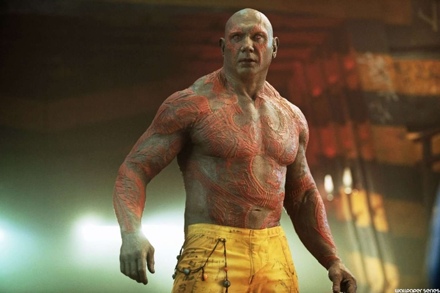 "Batista como ""Drax the Destroyer"" - Guardians of The Galaxy - © Marvel - 2014"