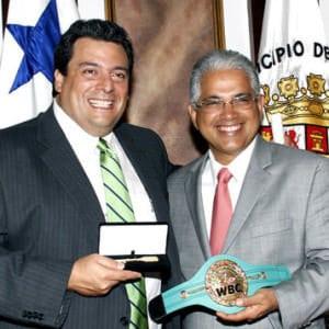 Mauricio Sulaimán está de visita en Panamá
