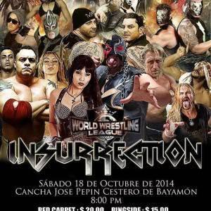 WWL: Idols Of Wrestling 12 - ¿Llegará Dennis Rivera a Insurrection? 11