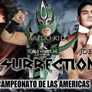 Laredo Kid vs BJ vs Joe Bravo por el Campeonato de las Américas de WWL en Insurrection 3