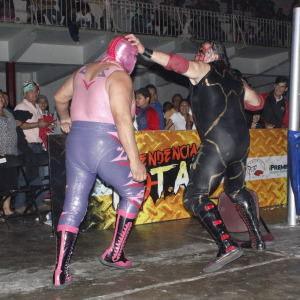 Chessman quiere la máscara de la pantera rosa.