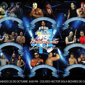 WWC: Cartelera Aniversario 41 Dedicado al Rey de la Lucha Libre Chiky Starr - Los Matadores junto al Torito en Puerto Rico 6