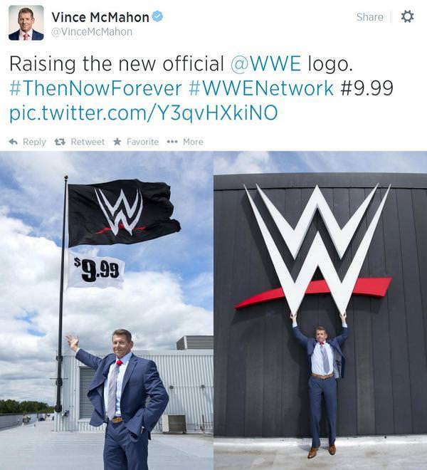 Vince McMahon en Twitter