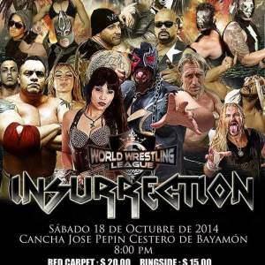 WWL: Cartel final para Insurrection, hoy, en la Pepín Cestero de Bayamón - Boletos a la Venta Ya 10