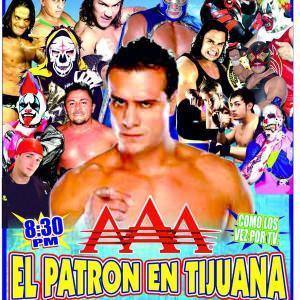 El Patrón reaparece en Tijuana el 24 de octubre 10