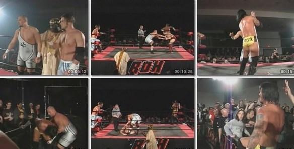 CM Punk & Bryan Danielson vs. Adam Pearce & Jimmy Rave - ROH