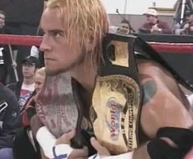 CM Punk - IWA MS