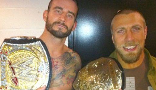 CM Punk and Daniel Bryan - WWE