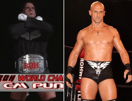 CM Punk vs. Christopher Daniels - ROH