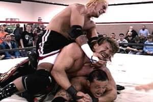 CM Punk vs. Eddie Guerrero vs. Rey Mysterio - IWA-MS