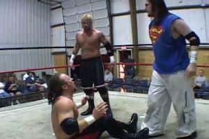 Chris Hero vs. BJ Whitmer vs. CM Punk - IWA MS