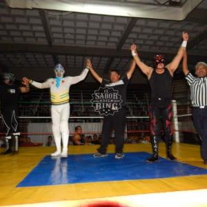 San Luis Potosí - El Pantera, Dinamic Black y Máscara Sagrada Jr. triunfan en la Arena Coliseo 1
