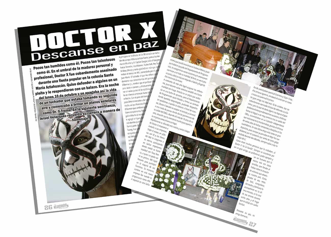 Doctor X-treme / SÚPER LUCHAS #434