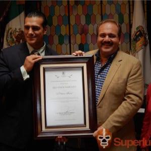 El Patrón, Alberto recibe reconocimiento del H. Ayuntamiento de San Luis Potosí 2