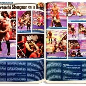 Cinco años de Strongman: Los extranjeros en el CMLL 2