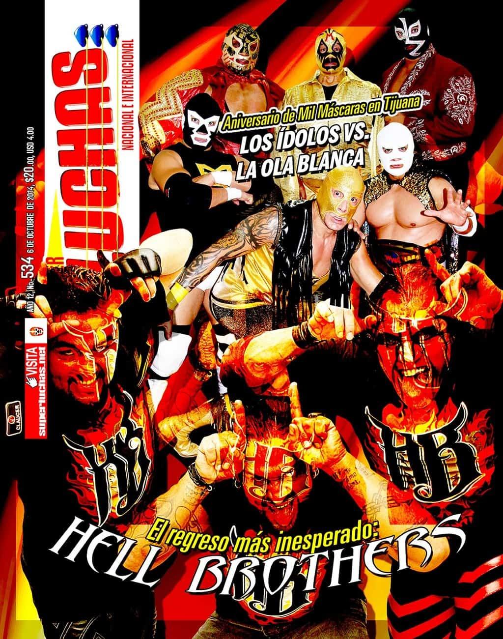Súper Luchas #534: El regreso de los Hell Brothers 1