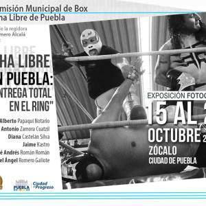 """""""Entrega Total en el Ring"""": Exposición Fotográfica en Puebla 15"""