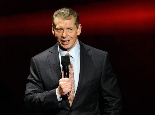 Vince McMahon / Photo by Ethan Miller/Getty Images