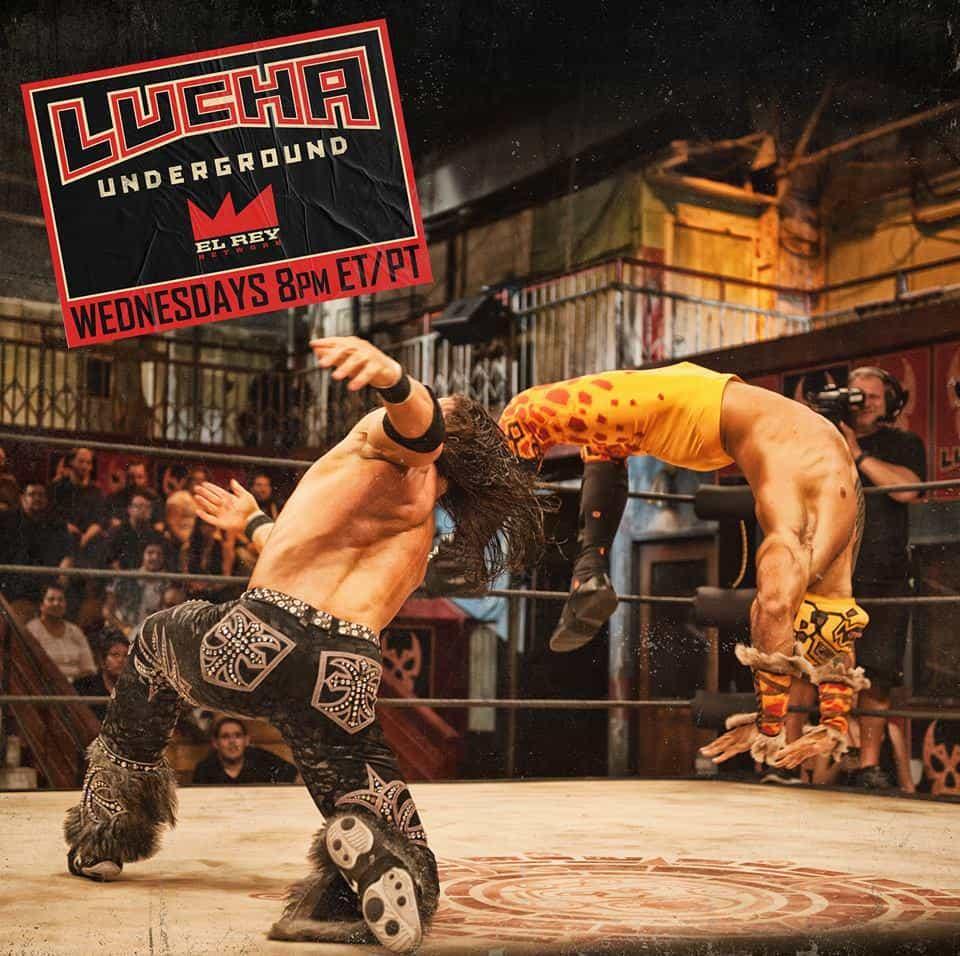 Johnny Mundo (John Morrison) vs. Prince Puma - facebook.com/LuchaUnderground