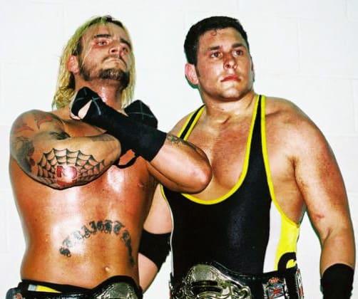 CM Punk y Colt Cabana