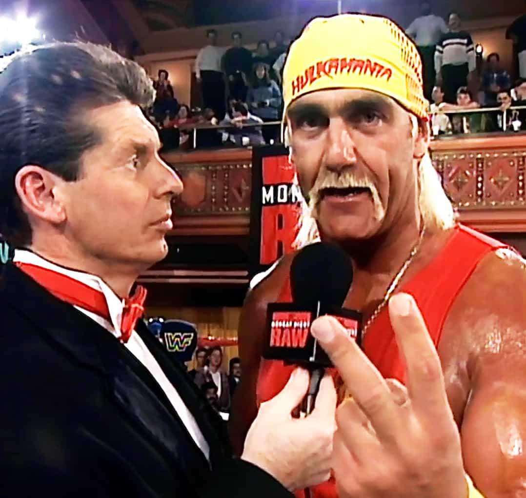 Vince McMahon vs Hulk Hogan: así están las apuestas 1