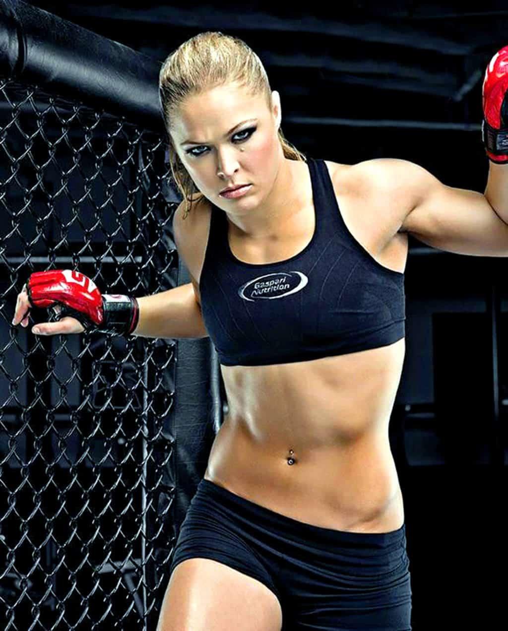 Ronda Rousey En Topless Para Maxim Magazine Superluchas