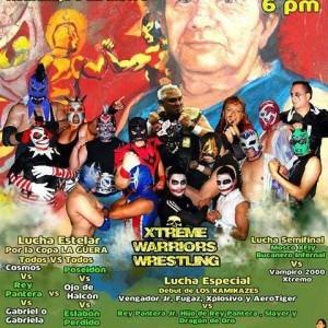Cartel 4 de enero Arena Xalapa.