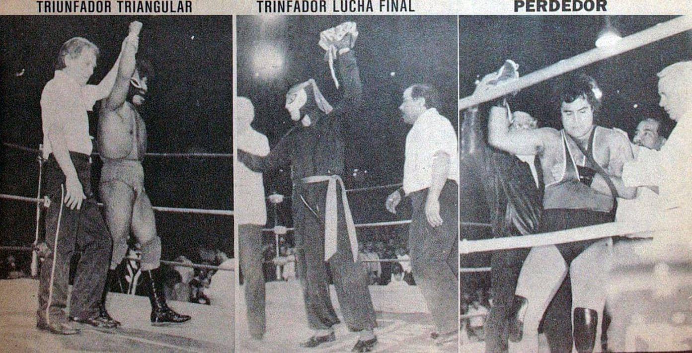 Fuerza Guerrera, Octagón, Huracán Ramírez (14 de diciembre de 1990).