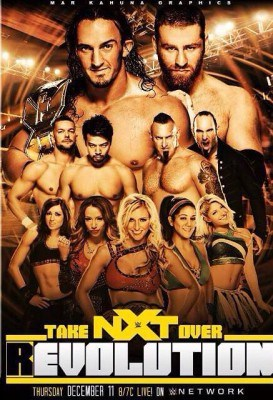 Poster fanmade de NXT Takeover: R Evolution